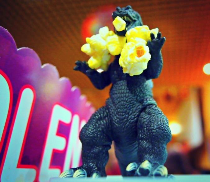 Godzilla syö
